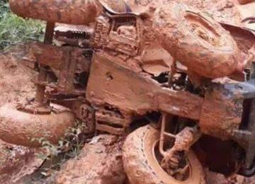 """Brasileiro morreu após acidente com moto 4X4 no garimpo da """"Nação"""""""