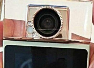 Sony pode lançar câmera de selfies em formato de perfume