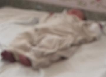 Recém-nascida é encontrada com vida dentro de túmulo na Serra de SC