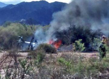 Colisão de dois helicópteros deixa dez mortos na Argentina