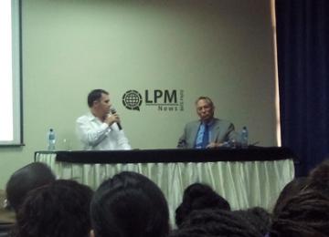 Embaixador do Brasil participou de seminário na Universidade Anton de Kom do Suriname