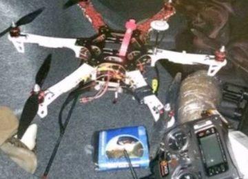 Drones driblam vigilância para levar drogas e celulares às prisões americanas