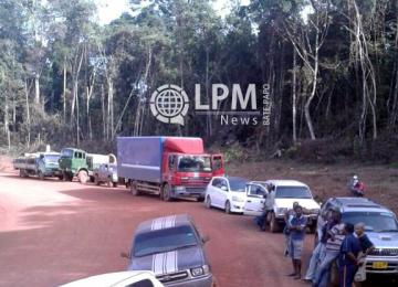 Atualização: Estrada Langa Tabiki foi liberada na quinta-feira, 30 de abril