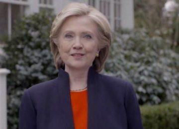 Hillary Clinton anuncia candidatura à presidência dos Estados Unidos