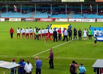 Seleção de futebol do Suriname perdeu para a Nicaragua por 3X1 no Estádio Andre Kamperveen