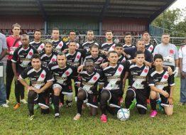 KNVB voetbalteam op bezoek in Suriname