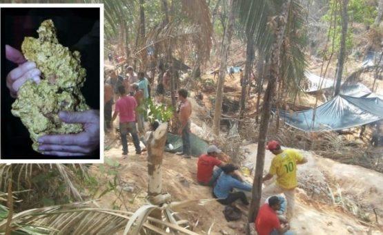 Polícia deve ir à 'nova Serra Pelada' na terça para negociar com garimpeiros