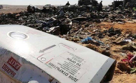 Rússia diz que bomba derrubou avião no Egito e afirma que ato foi terrorista
