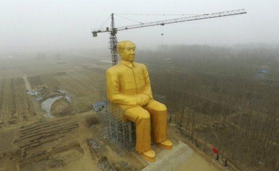 China constrói 'maior estátua de ditador do mundo'