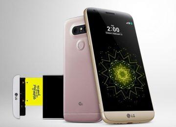 LG lança G5, celular com 3 câmeras, bateria removível e novos acessórios
