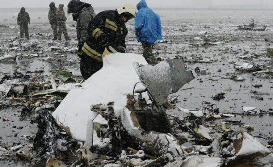 Rússia começa a investigar causas do acidente de avião que matou 62