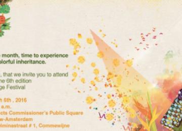 "Centro Cultural Brasil Suriname (CCBS) promove ""Suriname Heritage Festival"""
