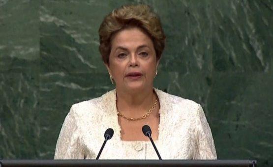 Na ONU, Dilma não fala em golpe, mas pede que brasileiro impeça 'retrocesso' na democracia
