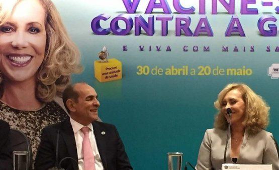 Saúde inicia sábado vacinação contra gripe; meta é imunizar 49,8 milhões