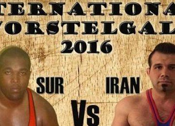 Lutadores do Suriname e da Holanda irão se enfrentar em Paramaribo