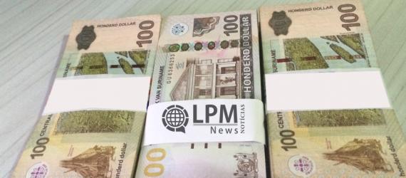 Transações bancárias em SRD não serão mais cobradas no Suriname