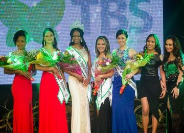 """Paramaribo conheceu a mais nova vencedora do """"Tropical Beauties Suriname"""""""