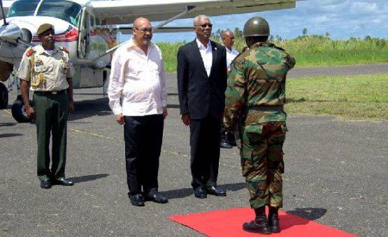 Suriname e Guiana Inglesa reforçam laços de cooperação