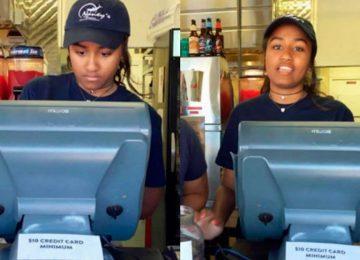 Caçula de Obama trabalha como caixa em restaurante