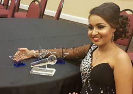 Nisha Madaran foi a grande vencedora do Suriname Summer Award 2016