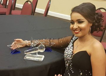 Nisha Madaran foi a grande vencedora do Suriname Summer Award 2016