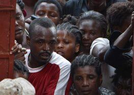 Especialista denuncia condições desumanas de haitianos após furacão