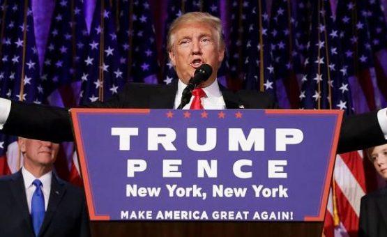 Donald Trump é eleito presidente dos Estados Unidos