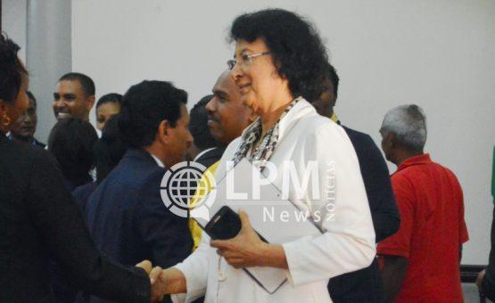 Suriname participa da Cúpula Global de Mulheres Presidentes de Parlamento em Dubai