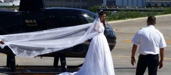 Perícia investigará queda de helicóptero que matou noiva em SP