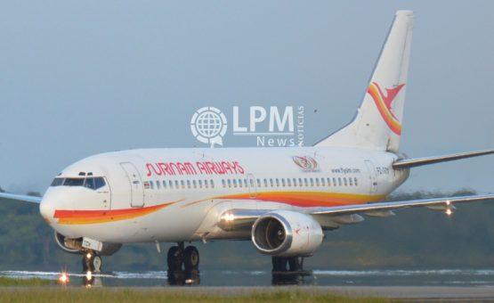 Presidente Desi Bouterse se pronuncia sobre segurança de voo da Surinam Airways