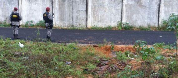 Força Nacional encontra terceiro túnel em prisão rebelada no RN