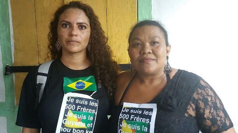 Brasileiros em protestos na Guiana Francesa 2
