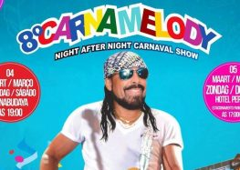 Hotel Pérola promove 8° Carnamelody em Paramaribo