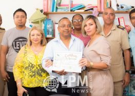 Proprietários do Hotel Pérola entregam doação a Fundação Betheljada em Paramaribo ( Veja as Fotos )