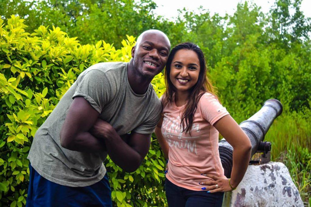 Nisha Madaran & Ray Neiman