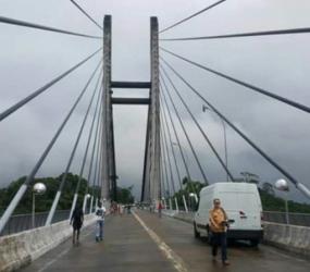 Ponte entre o Brasil e a Guiana Francesa: Fiscalização só do lado francês