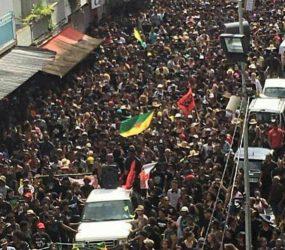 Tensão aumenta com segundo dia de greve geral na Guiana Francesa