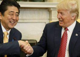 Abe e Trump combinam cooperação para lidar com Coreia do Norte