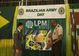 """Aditância Militar celebra """"Dia do Exército Brasileiro"""" no Congress Hall em Paramaribo (Fotos)"""