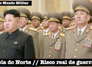 Mundo em alerta: Coreia do Norte ameaça entrar em guerra com os EUA