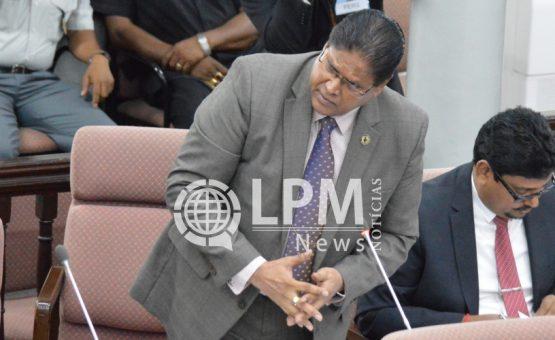 Chan Santokhi discorda das declarações do ministro da Justiça e Polícia
