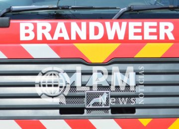 Incêndio na rua Keizerstraat causou pânico e confusão na noite de quarta-feira em Paramaribo