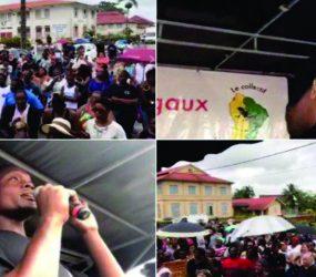 Conflito na Guiana Francesa: Grupo 500 irmãos chega a Saint-Laurent du Maroni
