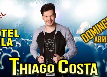 Hotel Pérola promove mega show sertanejo com Thiago Costa e Banda no domingo em Paramaribo
