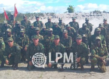 Marinha do Brasil apoia Curso de Formação de Fuzileiros Navais da Marinha do Suriname
