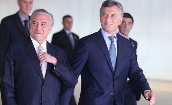 Escândalo envolvendo Temer afeta economia da Argentina