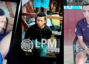 Polícia divulga nome dos três assaltantes brasileiros presos no garimpo