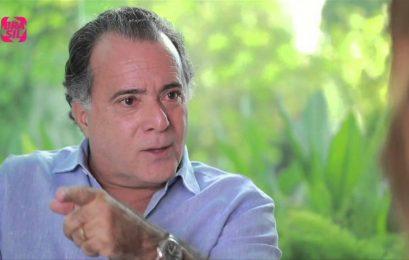 O ator Tony Ramos decidiu romper seu contrato de R$ 5 milhões com a Friboi, após as denúncias da delação da JBS virem à tona