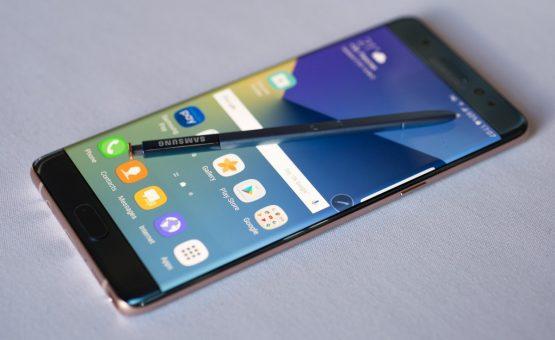 Samsung lança aparelho com peças recicladas do Galaxy Note 7