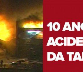 Após 10 anos, ninguém foi condenado por acidente da TAM em Congonhas, SP